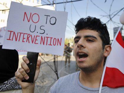Lebanon protester (Bilal Hussein / Associated Press)