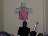 Crucified Migrant Life vest
