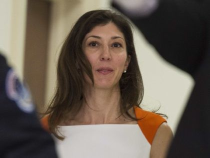 Lisa Page (Andrew Caballero-Reynolds / AFP via Getty)