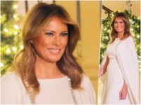 Fashion Notes: Melania Trump is An Angel in Reem Acra Gown for White House Christmas