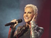 MADRID, SPAIN - NOVEMBER 18: Marie Fredriksson of Roxette performs on stage at Palacio de Vistalegre on November 18, 2011 in Madrid, Spain. (Photo by Carlos Alvarez/Getty Images)