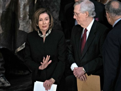 McConnell Says Pelosi Is Afraid