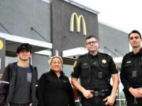 McDonalds Employees Save Woman