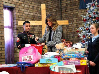 Melania Trump, Salvation Army, Christmas