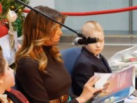 Watch Live: Melania Trump Reads to Kids at Children's Hospital