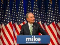 Poll: Elizabeth Warren Slips as Michael Bloomberg Rises