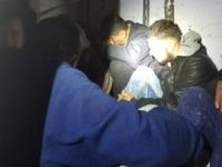 Laredo Sector Border Patrol agents rescue 27 migrants from a sub-freezing trailer at an immigration checkpoint near the Texas Border. (Photo: U.S. Border Patrol/Laredo Sector)