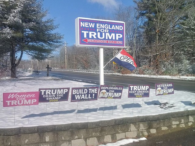 New England for Trump