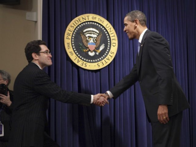 Norm Eisen and Barack Obama (J. Scott Applewhite / Associated Press)