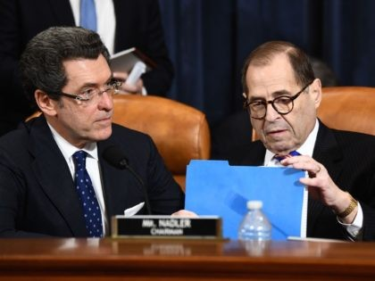 Norm Eisen and Jerry Nadler (Brendan Smialowski / AFP / Getty)