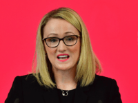 LANCASTER, ENGLAND - NOVEMBER 15: Shadow Secretary of State for BEIS Rebecca Long-Bailey addresses the audience at the University of Lancaster on November 15, 2019 in Lancaster, England. Labour leader Jeremy Corbyn has announced a major new digital infrastructure policy including free broadband for all. (Photo by Anthony Devlin/Getty Images)