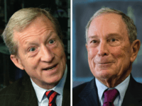 Tom Steyer and Michael Bloomberg billionaires (Associated Press)