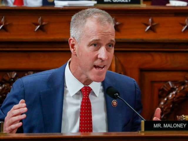 US Rep. Sean Patrick Maloney (D-NY) questions US Ambassador to the European Union Gordon Sondland during a House Intelligence Committee hearing as part of the impeachment inquiry into U.S. President Donald Trump on Capitol Hill in Washington, DC on November 20, 2019. - The US ambassador to the European Union …
