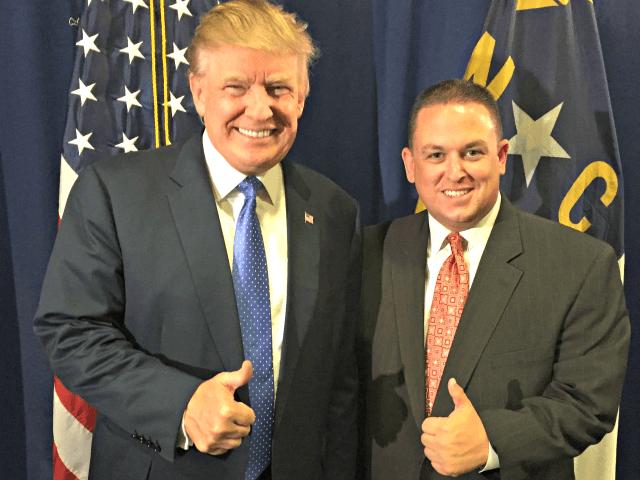 Donald Trump and Wayne King