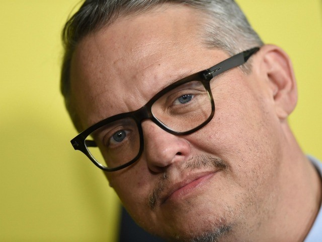 """Director/writer Adam McKay attends the world premiere of """"Vice"""" at the AMPAS Samuel Goldwyn theatre in Beverly Hills on December 11, 2018. (Photo by VALERIE MACON / AFP) (Photo credit should read VALERIE MACON/AFP via Getty Images)"""