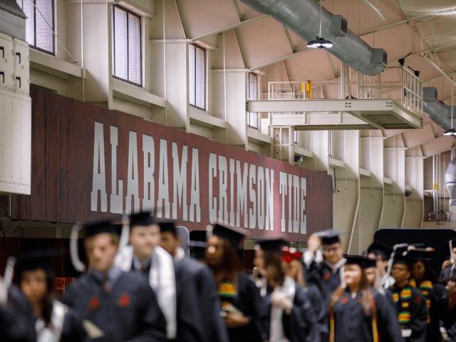 University of Alabama graduates