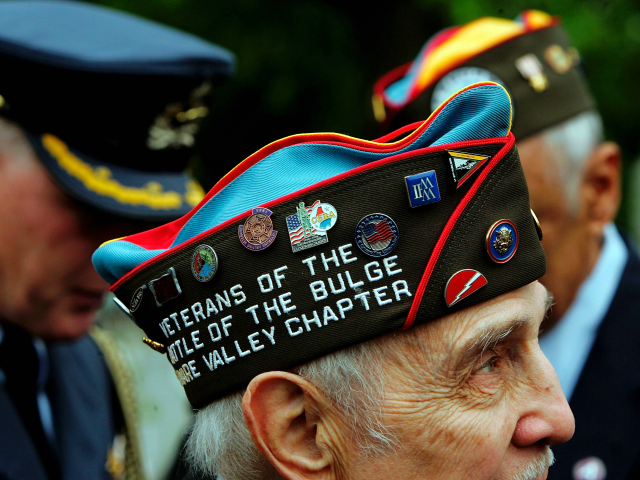 Second World War Veterans Remember the Battle of the Bulge 75 Years On
