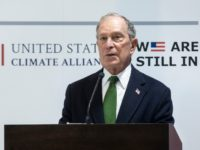MADRID, SPAIN - DECEMBER 10: Democratic Presidential candidate and former New York City Mayor Michael Bloomberg speaks at a conference during COP25 Climate Summit on December 10, 2019 in Madrid, Spain. The COP25 conference brings together world leaders, climate activists, NGOs, indigenous people and others for two weeks in an …