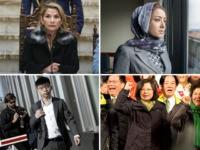 Joshua Wong, Mihrigul Tursun, Jeanine Áñez, and Tsai Ing-wen