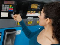 credit card at pump