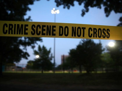 ALEXANDRIA, VA - JUNE 15: Crime scene tape surrounds the Eugene Simpson Field, the site where a gunman opened fire June 15, 2017 in Alexandria, Virginia. Multiple injuries were reported from the instance, the site where a congressional baseball team was holding an early morning practice, including House Republican Whip …