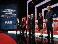 democrat-debate-december-candidates-start-getty
