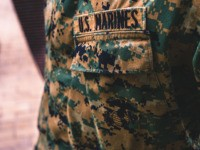 Uniform of the US Marines.