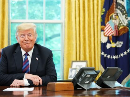 "nafta TOPSHOT - US President Donald Trump listens during a phone conversation with Mexico's President Enrique Pena Nieto on trade in the Oval Office of the White House in Washington, DC on August 27, 2018. - President Donald Trump said Monday the US had reached a ""really good deal"" with …"