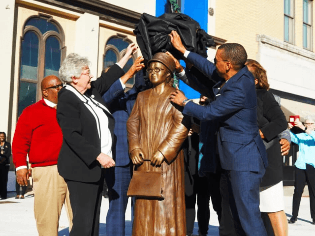 It was my privilege to take part in a dedication ceremony for a statue honoring Rosa Parks in downtown Montgomery today. May her legacy continue to inspire all of us for generations to come.