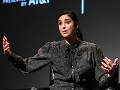 NEW YORK, NEW YORK - APRIL 29: Comedian/actor Sarah Silverman attends Tribeca Talks - Storytellers - Sarah Silverman With Mike Birbiglia - 2019 Tribeca Film Festival at BMCC Tribeca PAC on April 29, 2019 in New York City. (Photo by Mike Coppola/Getty Images for Tribeca Film Festival)