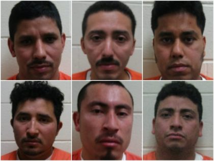 Six Illegal Aliens Accused of Raping, Sex Trafficking Underage Girl