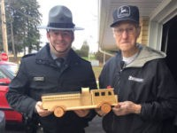 Elderly Toymaker Donates 300 Wooden Toys to Local Kids for Christmas