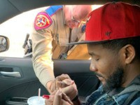 Texas State Trooper Prays During Traffic Stop with Man Who Lost Brother