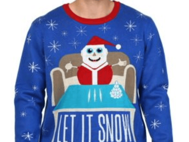 "Walmart Canada is apologizing after several adult-themed ""ugly"" Christmas sweaters — including one involving Santa and drugs — were posted for sale on its website."