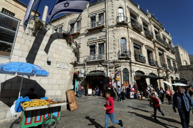 In Jerusalem hotel, eviction fears dampen Christmas cheer
