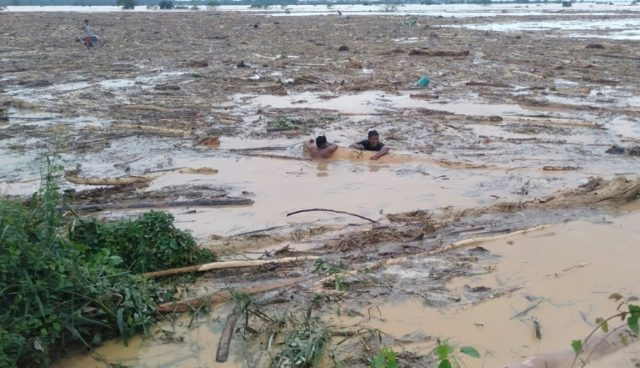 Luzon island, the nation's largest, has been hit by a string of storms, while monsoon rains were intensified by the passage of Typhoon Kammuri this week
