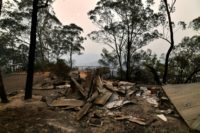 Smoke haze settles over Australian capital as bushfires burn