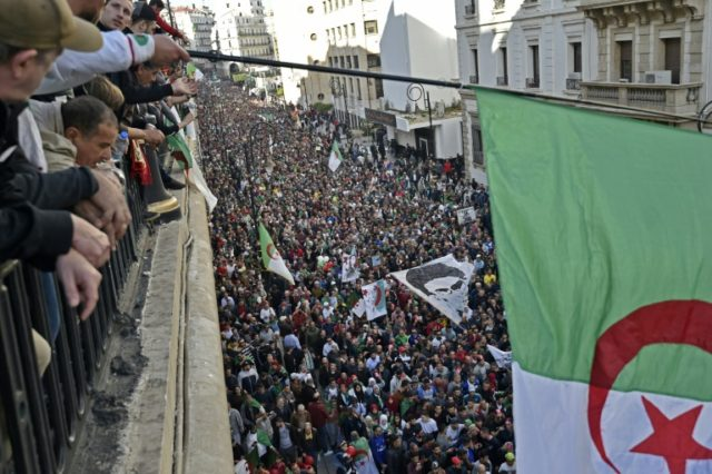 Pro-poll regime trolls counter Algeria protest activists
