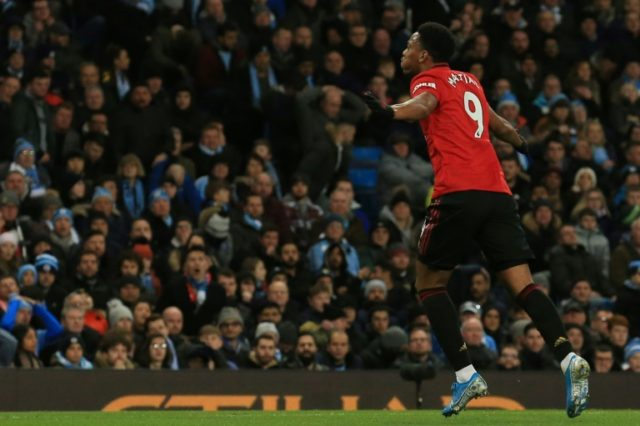 United win battle of Manchester to leave City 14 points off top