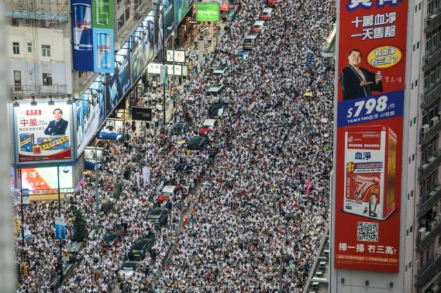 Millions of Hong Kongers have hit the streets in protests fuelled by years of growing fears that authoritarian China is stamping out the city's liberties