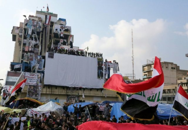 Protests grip Iraq's capital and south despite rising toll