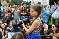 Snarky Trump tells Greta Thunberg to 'chill' and see movies