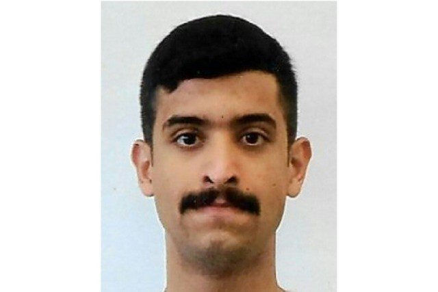 This handout photo released by the FBI shows the Pensacola shooter identified as 21-year-old Saudi air force officer Mohammed Alshamrani