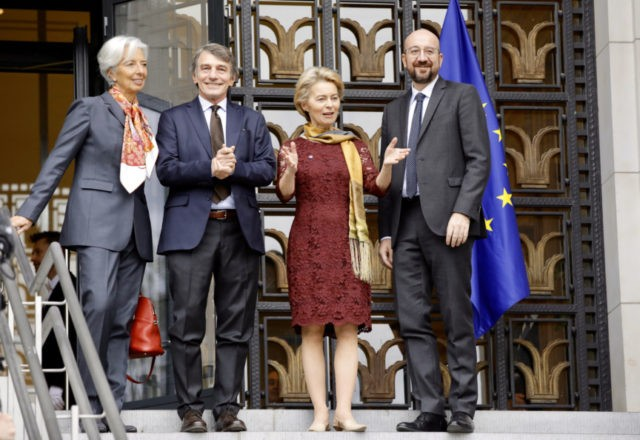 New EU leaders take office vowing to tackle climate change