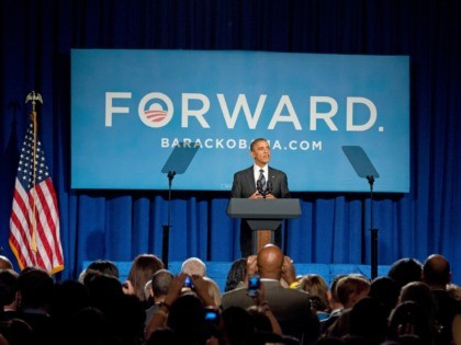 WASHINGTON - SEPTEMBER 28: U.S. President Barack Obama speaks during a fundraiser event at the Capital Hilton Hotel September 28, 2012 in Washington, DC. Obama will reportedly speak at three fundraisers after an afternoon of debate preparations. (Photo by Ron Sachs-Pool/Getty Images)