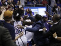 WATCH: Wild Brawl Breaks Out at End of Kansas State-Kansas Game