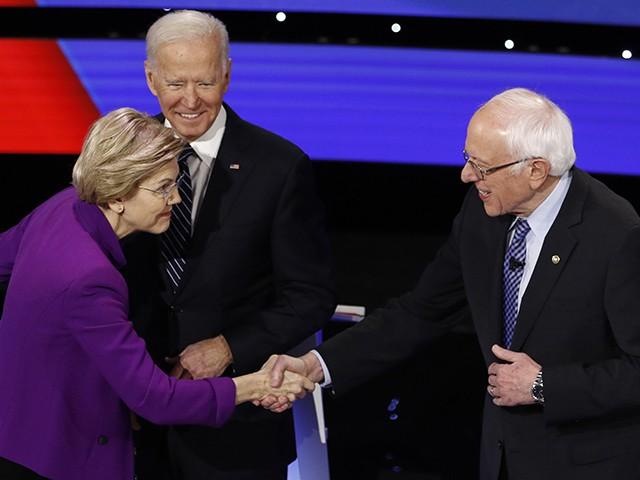 Democrat Debate: Bernie Sanders Denies Saying a Woman Cannot Win the Presidency
