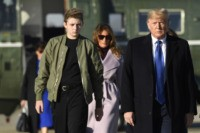 Donald Trump: My Son Barron in His Room, Would Rather Be Playing Sports