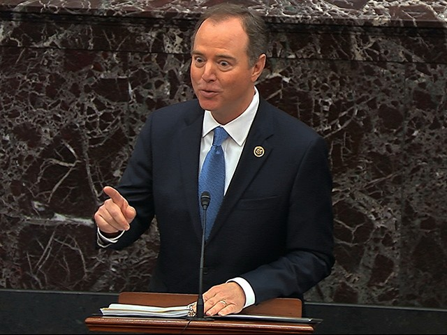 Adam Schiff 'Jokes' Senators Face Jail if They Disrupt Impeachment Trial