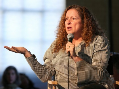 PARK CITY, UT - JANUARY 22: Abigail Disney speaks onstage at The Sundance Institute, Refinery29, and DOVE Chocolate Present 2018 Women at Sundance Brunch at The Shop on January 22, 2018 in Park City, Utah. (Photo by Phillip Faraone/Getty Images for Refinery29)